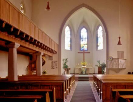 Berger Kirche Altar
