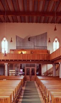 Berger Kirche Orgel