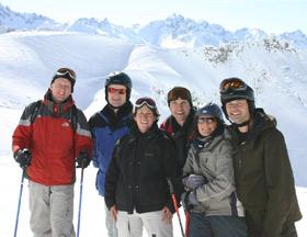 Ski-Ausfahrt-Heiländer