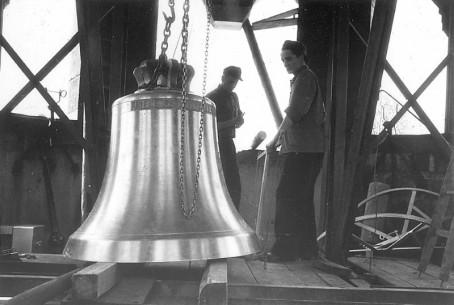 Heilandskirche 1957 Glockenweihe
