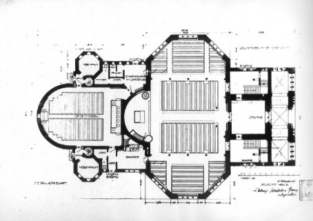 Heilandskirche Grundriss