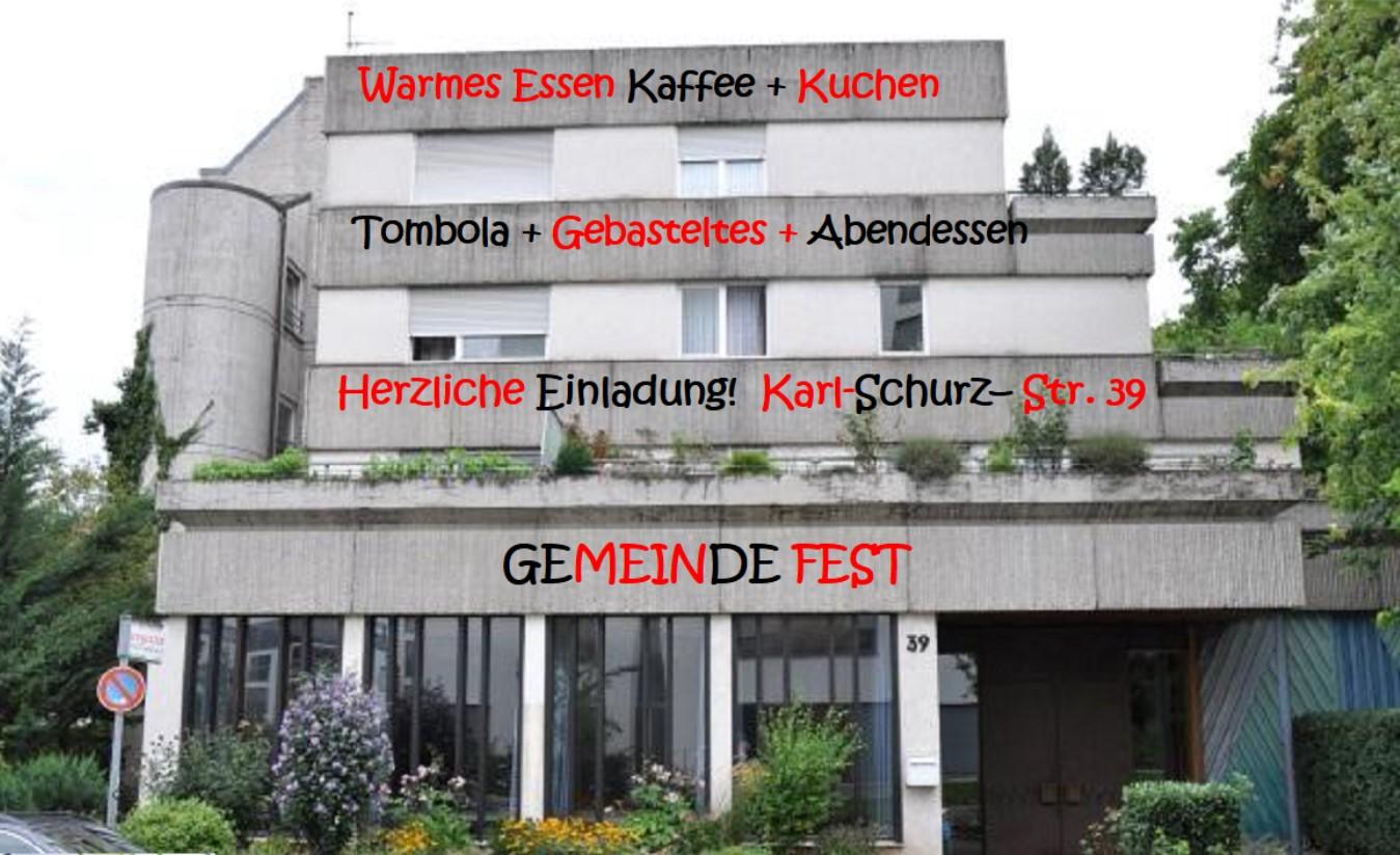 Gemeindefest Berg